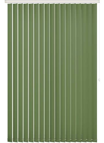 Replacement Vertical Blind Slats Bella Blackout Pear Green