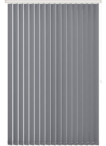 Replacement Vertical Blind Slats Bella Blackout Pewter Grey