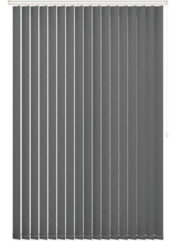 Replacement Vertical Blind Slats Bella Blackout Rock Grey