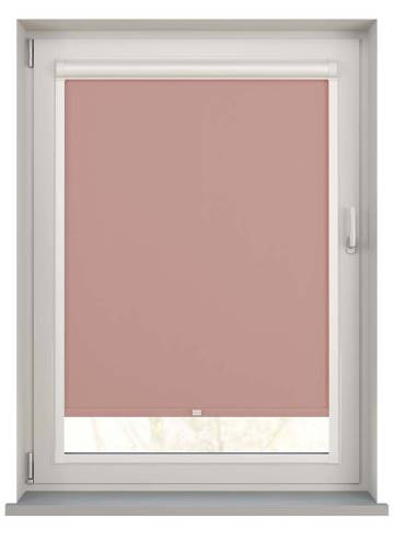 Perfect Fit Roller Blinds Bella Blackout Rose Gold