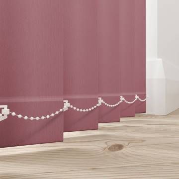 Vertical Blinds Bella Blackout Rosewood Pink