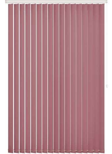 Replacement Vertical Blind Slats Bella Blackout Rosewood Pink
