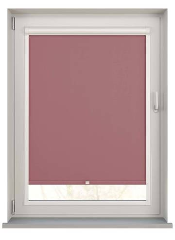 Perfect Fit Roller Blinds Bella Blackout Rosewood Pink