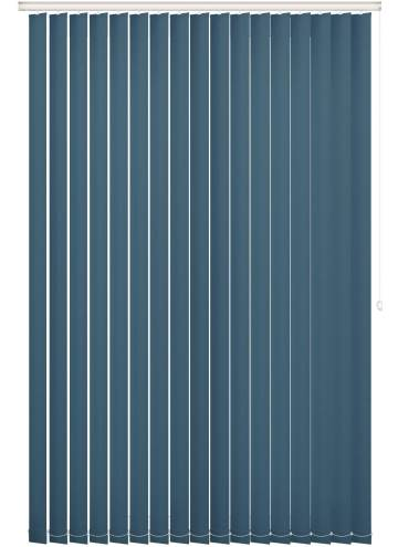 Replacement Vertical Blind Slats Bella Blackout Sapphire Blue