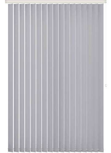 Vertical Blinds Bella Blackout Silver Mist