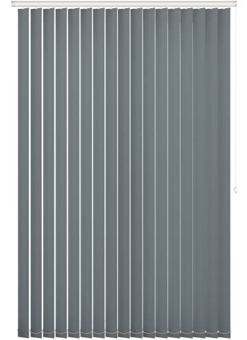 Vertical Blinds Bella Blackout Slate Grey