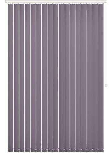 Replacement Vertical Blind Slats Bella Blackout Sloe Purple