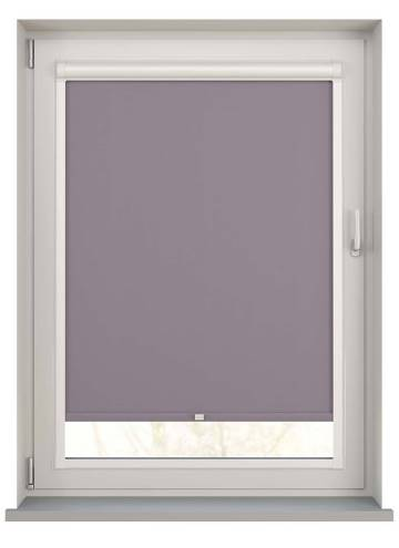 Perfect Fit Roller Blinds Bella Blackout Sloe Purple