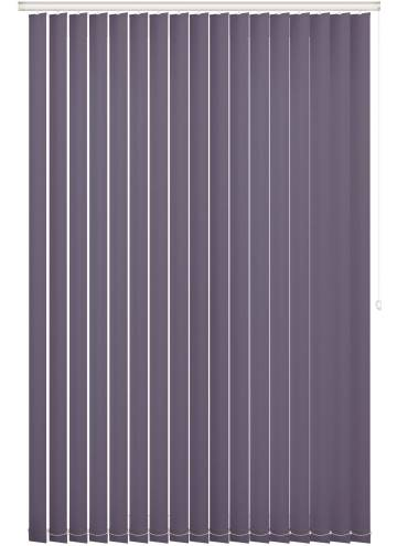 Vertical Blinds Bella Blackout Smokey Purple