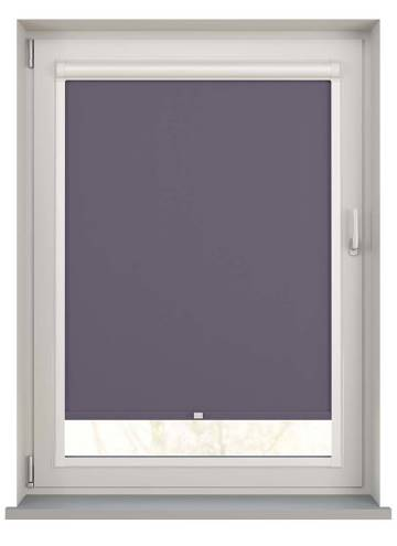 Perfect Fit Roller Blinds Bella Blackout Smokey Purple