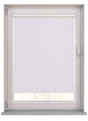 Perfect Fit Roller Blinds Bella Blackout Snow White