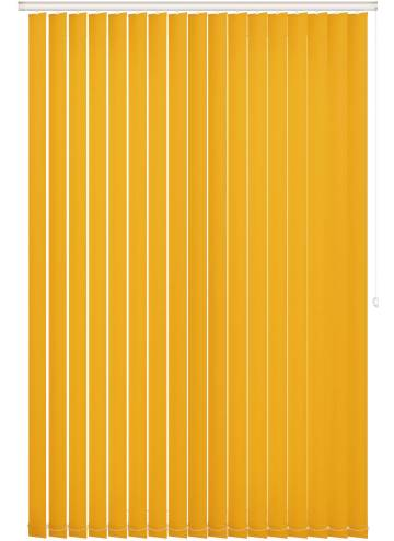 Vertical Blinds Bella Blackout Solar Yellow