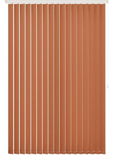 Replacement Vertical Blind Slats Bella Blackout Tango Orange