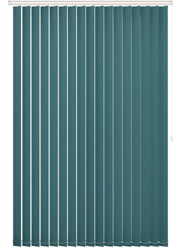 Vertical Blinds Bella Blackout Teal Blue