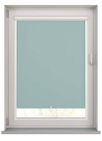 Perfect Fit Roller Blinds Bella Blackout Tiffany Blue