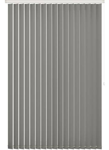 Vertical Blinds Bella Blackout Tropez Grey