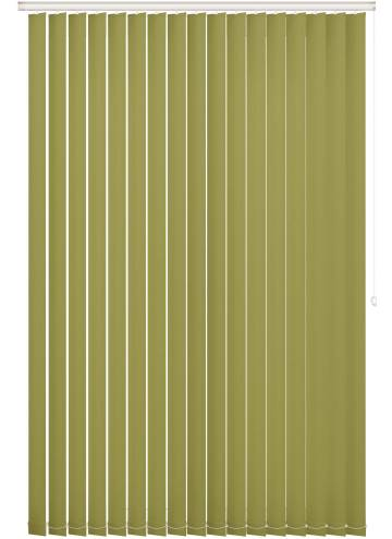 Replacement Vertical Blind Slats Bella Blackout Vine Green