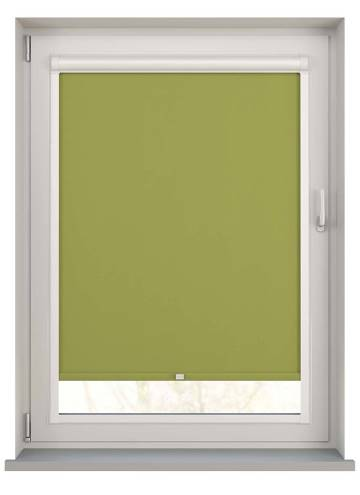 Perfect Fit Roller Blinds Bella Blackout Vine Green