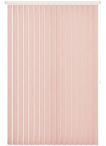 Replacement Vertical Blind Slats Bexley Peony Pink