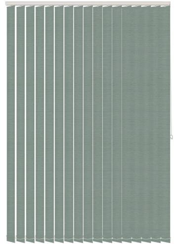 Replacement Vertical Blind Slats Canvas Celeste Blue