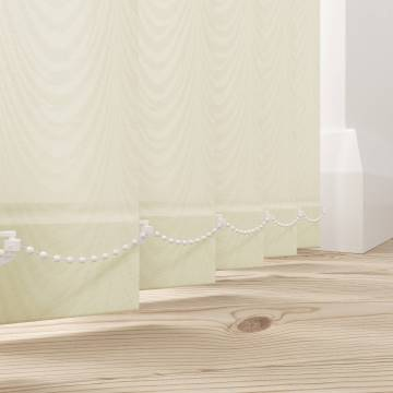 Replacement Vertical Blind Slats Carlo Cream