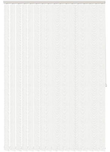 Vertical Blinds Carlo White