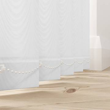 Replacement Vertical Blind Slats Carlo White