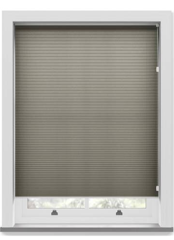 Pleated Free hanging Blinds Cellular Concrete