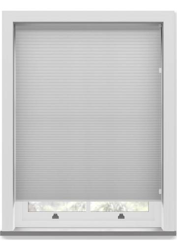 Pleated Free hanging Blinds Cellular Dove Grey