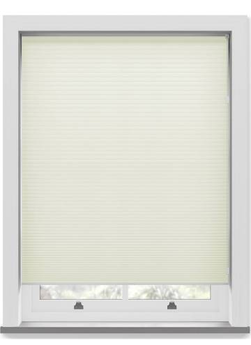 Pleated Free hanging Blinds Cellular Ivory