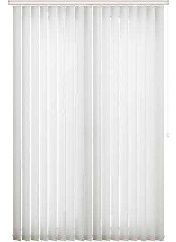 Vertical Blinds Cleo White