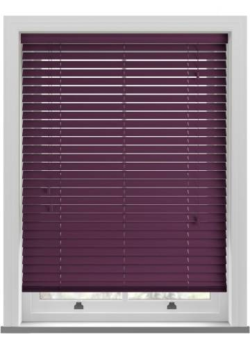 Wooden Blinds Colour Prime Poison