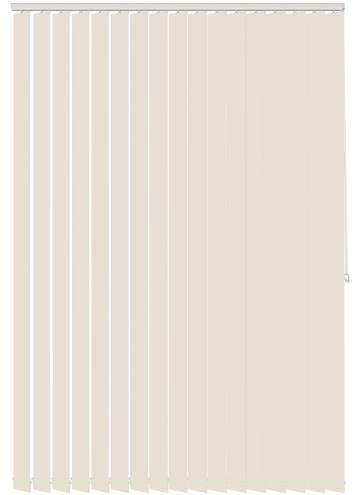 Vertical Blinds Dapple Solar Cream