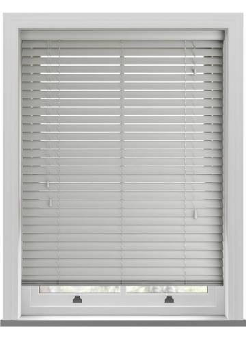 Wooden Blinds Deco Dove Grey