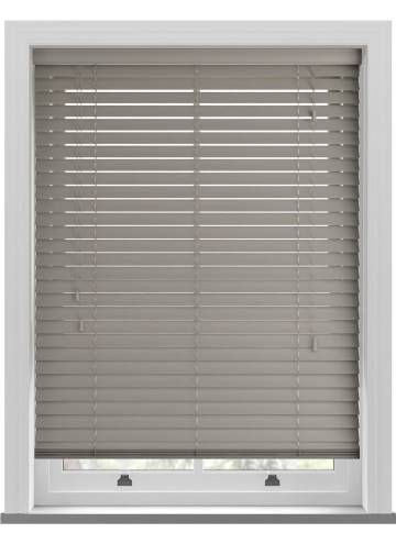 Wooden Blinds Deco French Grey