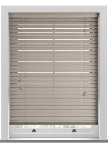 Wooden Blinds Deco Grained Bone
