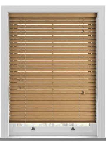 Wooden Blinds Deco Grained Desert Oak