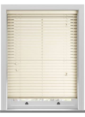 Wooden Blinds Deco Grained Linara Magnolia