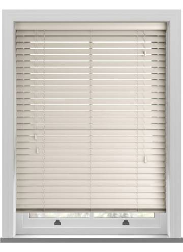 Wooden Blinds Deco Mirage Cream