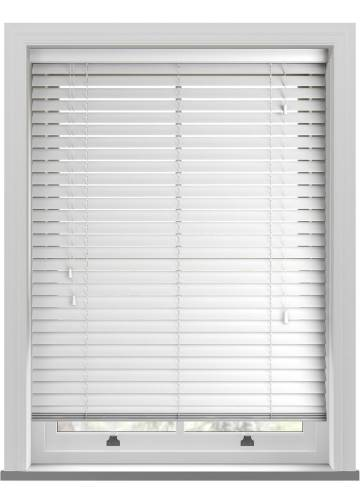 Wooden Blinds Deco True White