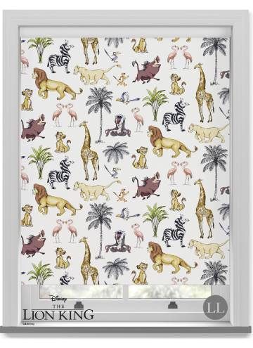 Roller Blinds Disney Collection The Lion King Safari