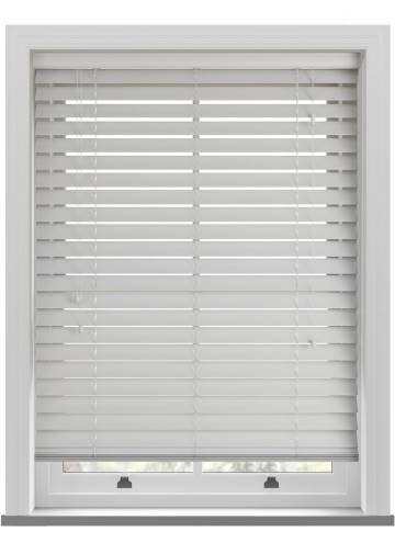 Wooden Blinds Ecostyle 63mm Cotton
