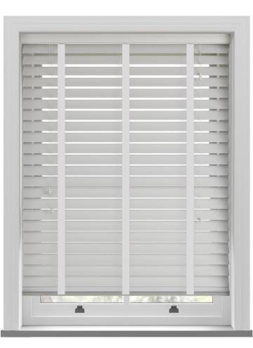 Wooden Blinds Ecostyle 63mm Taped Cotton