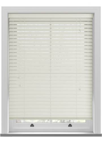 Wooden Blinds Ecostyle Alabaster