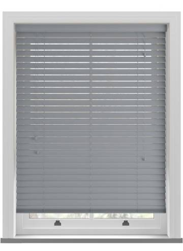 Wooden Blinds Ecostyle Bali Steel Grey