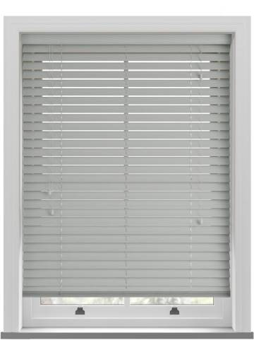 Wooden Blinds Ecostyle Fossil Mid Grey