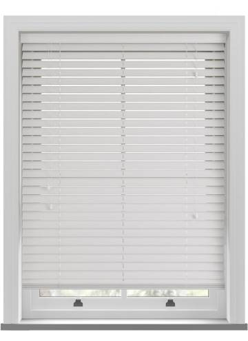 Wooden Blinds Ecostyle Grained Cotton