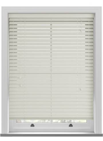 Wooden Blinds Ecostyle Grained Ivory