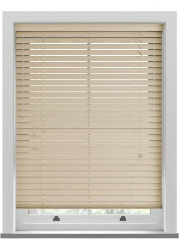 Wooden Blinds Ecostyle Grained Limestone