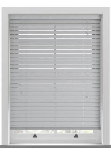 Wooden Blinds Ecostyle Grained Sterling